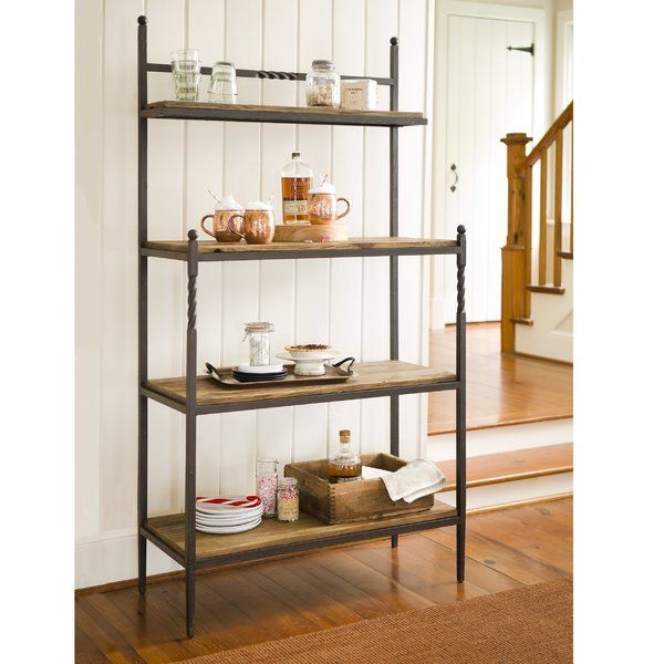 Rustic Baker S Rack Is A Space Saving Practical Design That Gives