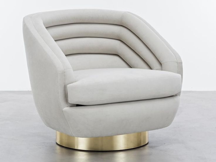 LUXURY CHAIRS |The Raoul Chair is a horizontally-channeled low club chair inspired by the fashion designs of Jean Paul Gaultier Haute Couture.