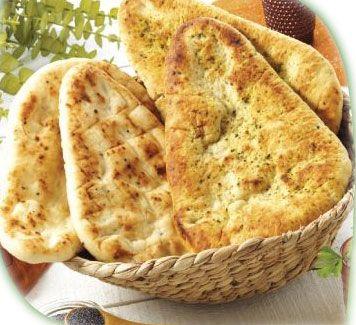 Recette facile économique   Naans - pain indien - recette inde   Cuisine Indienne