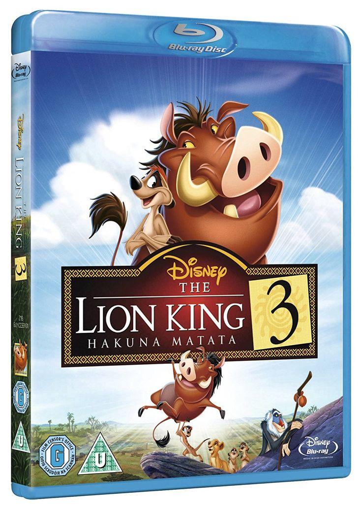 The Lion King 3 Hakuna Matata Blu-Ray