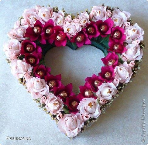 У меня сегодня 2 сердца. Люблю я их делать. фото 2