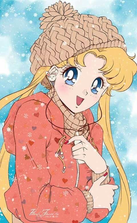 Anime Wallpaper Cute Gif Usagi Tsukino Sailor Moon Anime Sailor Moon Dibujos