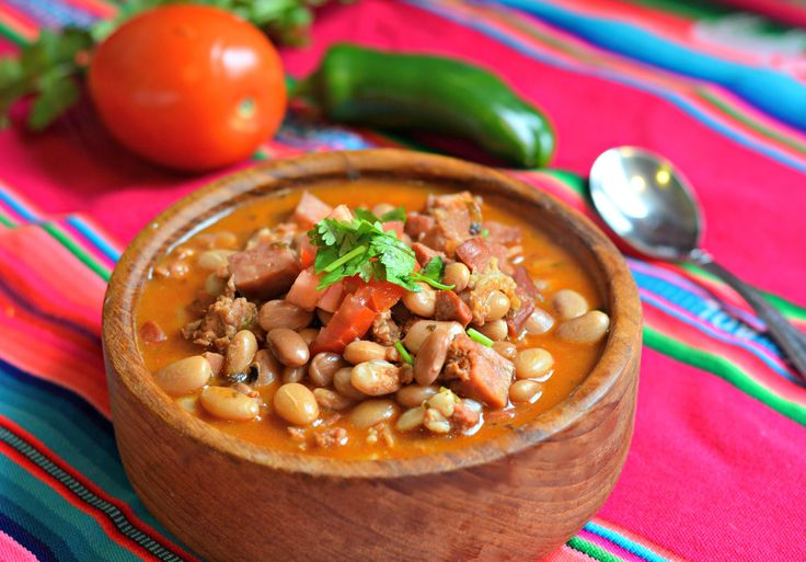 Charro Beans is an authentic Mexican dish that is often served alongside carne asada and other traditional Mexican dishes.