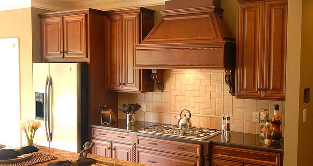 KITH Savannah Maple Ginger Chocolate Glaze by Below Wholesale Cabinets, via Flickr