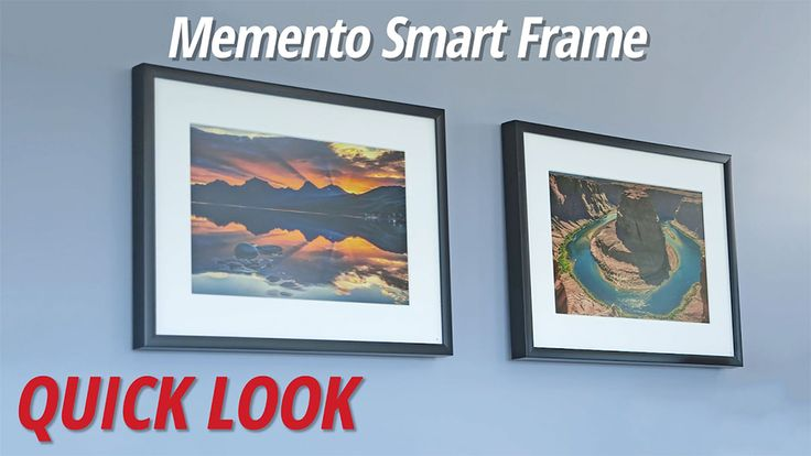 """In this B&H Quick Look video, photographer David Flores introduces Memento Smart Frames, a unique, state-of-the art 4K smart frame that enables you to display photographs digitally in a cutting-edge frame that emulates the look of traditional print photographs. Memento Smart Frames, which support Android, iOS, and Windows Wi-Fi communication, are available in two sizes: 25 and 35"""", in a choice of designer colors.[yt:oNA4fiQRQhw]"""