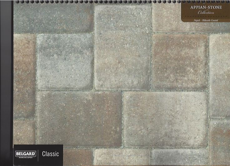 Napoli Appian Pavers Color Charts Concrete Pavers Slabs