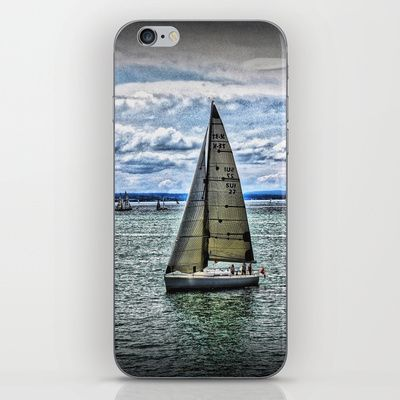 Yacht iPhone & iPod Skin by AngelEowyn - $15.00