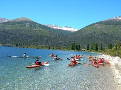 Kayaking in Bariloche