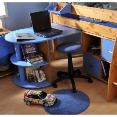 Extendable pull out table / desk for use under the Stompa Rondo midsleeper or Casa high sleeper (in conjuntion with the fixed desk).