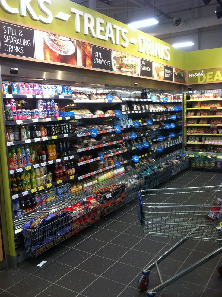 Food-To-Go new section Tesco Slough UK Convenience trend Change in 2014