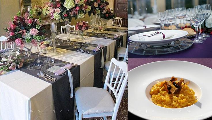 """Удобство кейтеринга в том, что можно устроить праздничный банкет в любом месте (даже на пляже, или у вас дома), и выбрать какие стулья вы предпочитаете, какой цвет скатерти, и стиль столовых приборов. Ни один ресторан не предоставляет такого выбора! """"Сиреневая"""" свадьба."""