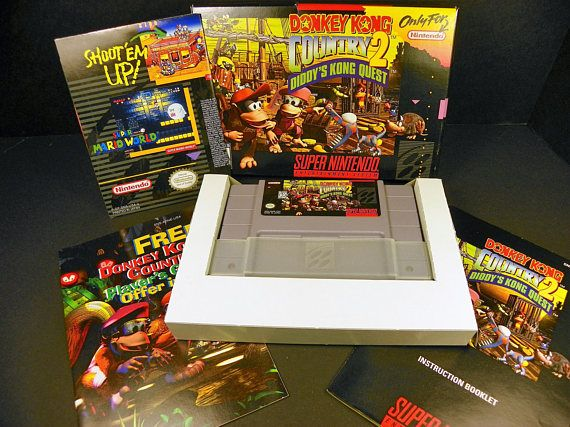 Donkey Kong Country 2: Diddy's Kong Quest SNES FREE