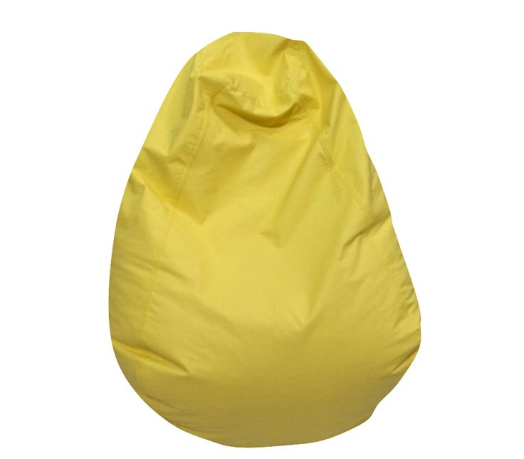 CF610-055 Tear Drop Yellow Bean Bag
