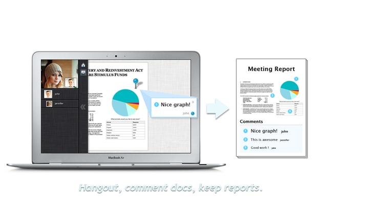 @LiveMinutes | Hangout, comment docs, keep reports!