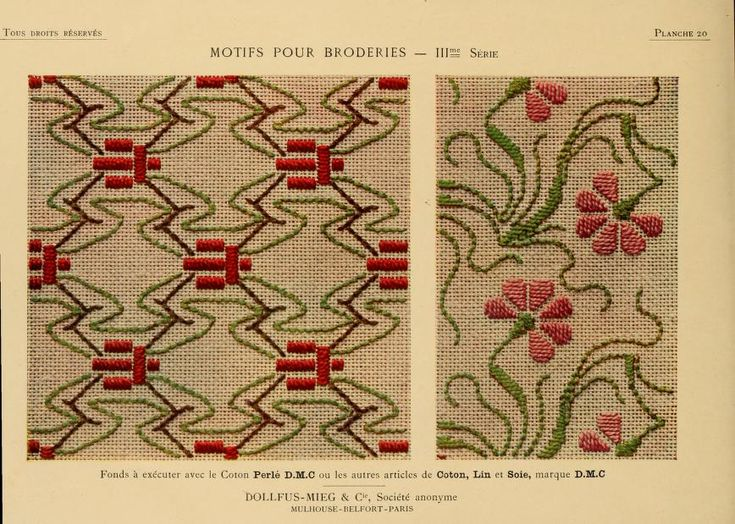Motifs pour broderies. (IIIme série) No 20