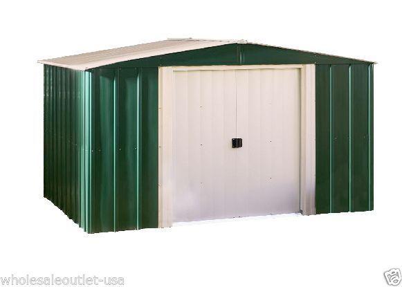arrow metal sheds 8 x 6 backyard garden shed kit outdoor medium yard storage