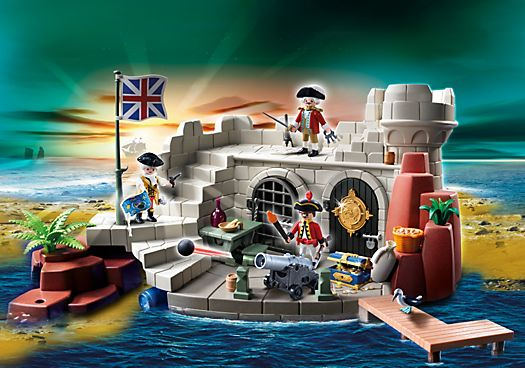 Soldiers Fort with Dungeon - PM GB PLAYMOBIL® United Kingdom