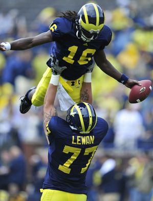 There's nothing I love more than a University of Michigan Football Saturday. Hail, Hail to Michigan!