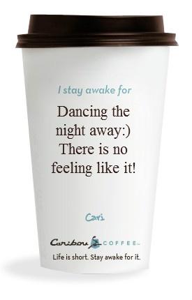 I love caribou coffee!
