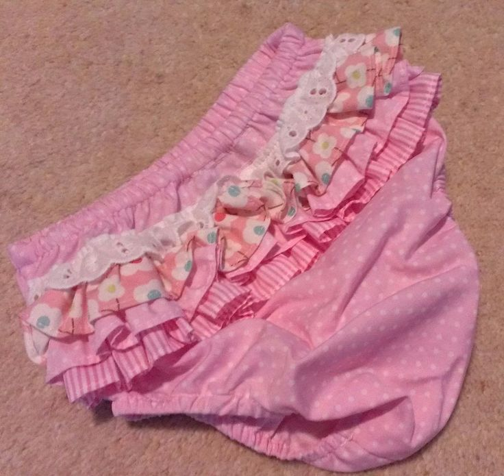 Look Who s Talking Baby ... Little Pink Dot Baby Parisienne Ruffle Bloomers