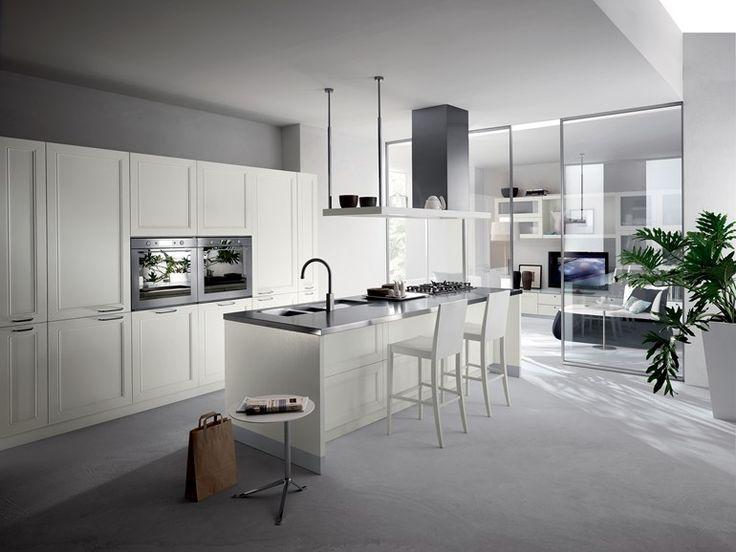 Fitted kitchen REGARD Scavolini Line by Scavolini design Raffaello Pravato