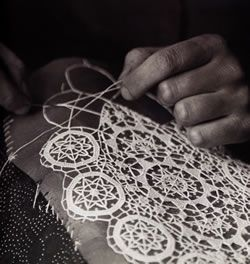 needle lace  | Culturenet.hr - Lacemaking in Croatia