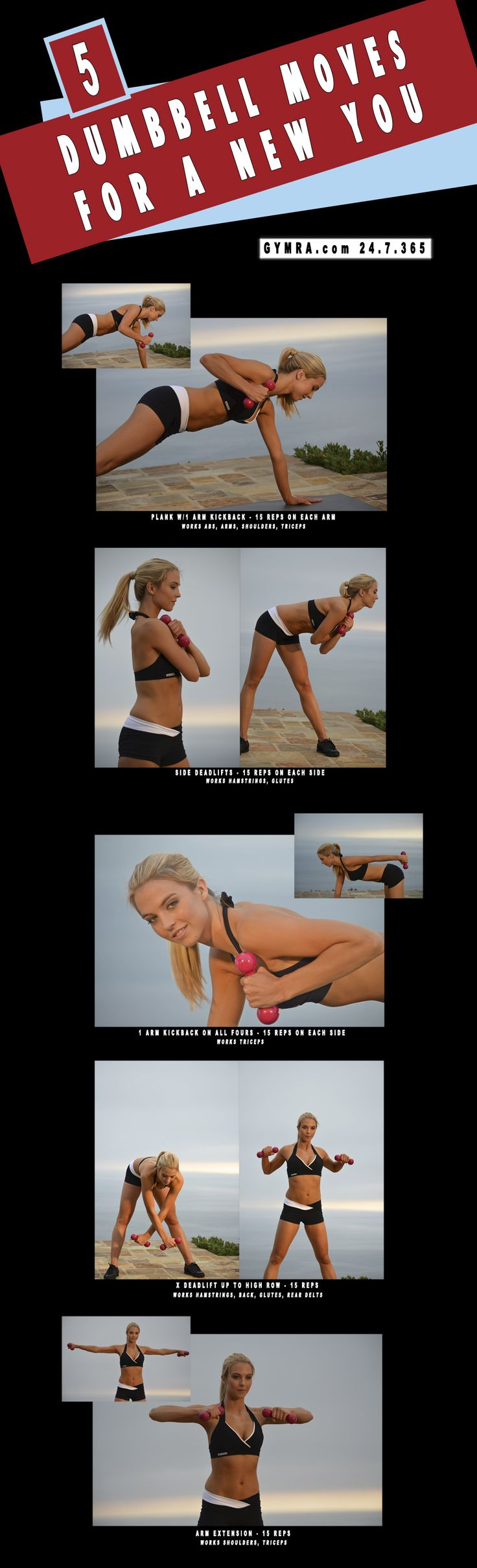Total Body Workout. Transform yourself, get fit & healthy.