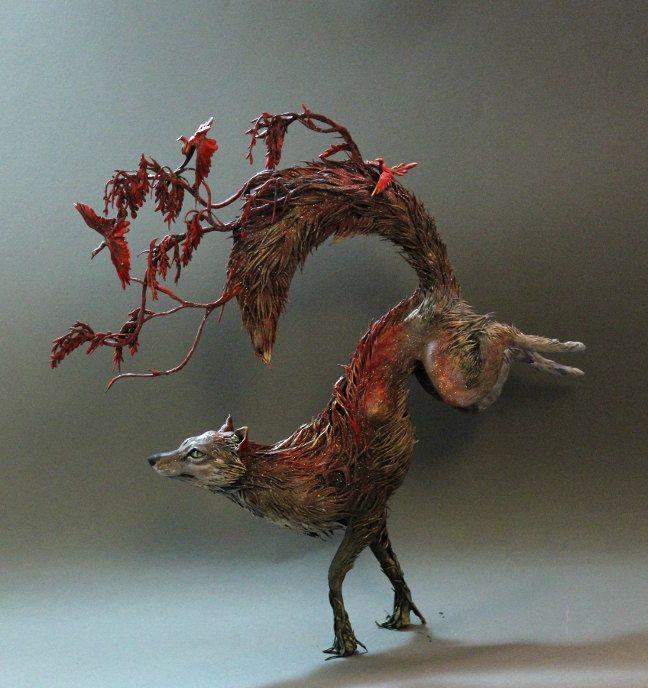 Best Ellen Jewett Images On Pinterest Figurines Artists And - Surreal animal plant sculptures ellen jewett