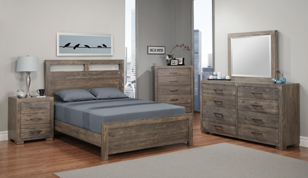 Steelcity bedroom by Handstone