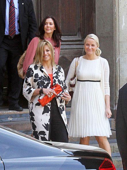 Princess Victoria and Mette Marit | Princess Mette-Marit The Swedish royal family hosts pre-wedding ...