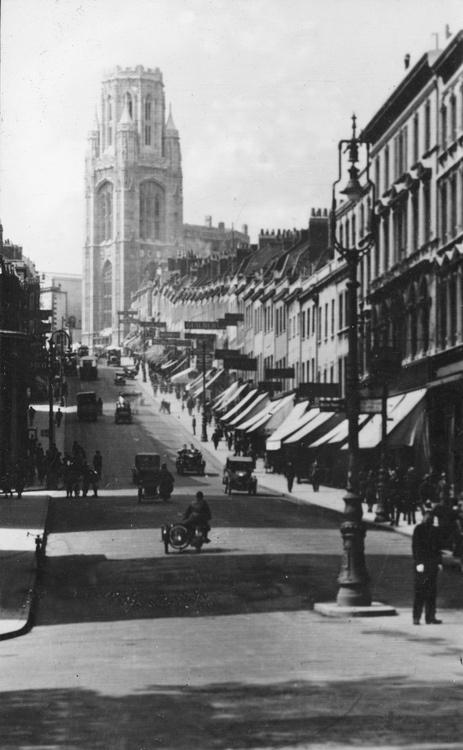 Park Street: Bristol, 1920s  - Book Local Traders --> https://SnipTask.com