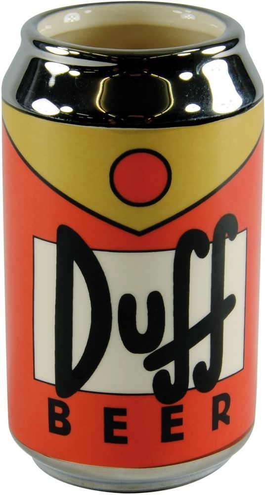 Tazza 3D Duff Beer Birra Ufficiale The Simpsons