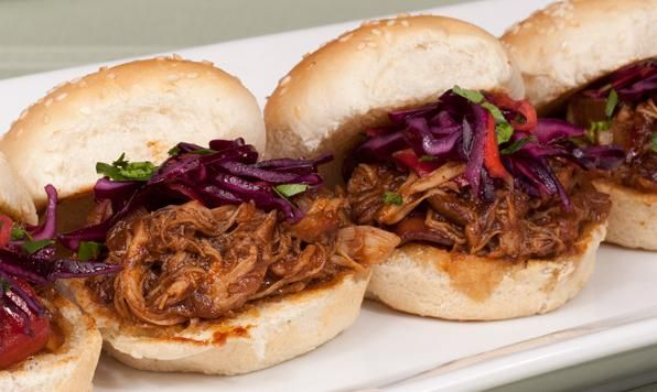 Appehtite (English) - Maple BBQ Pulled Chicken in Slow Cooker
