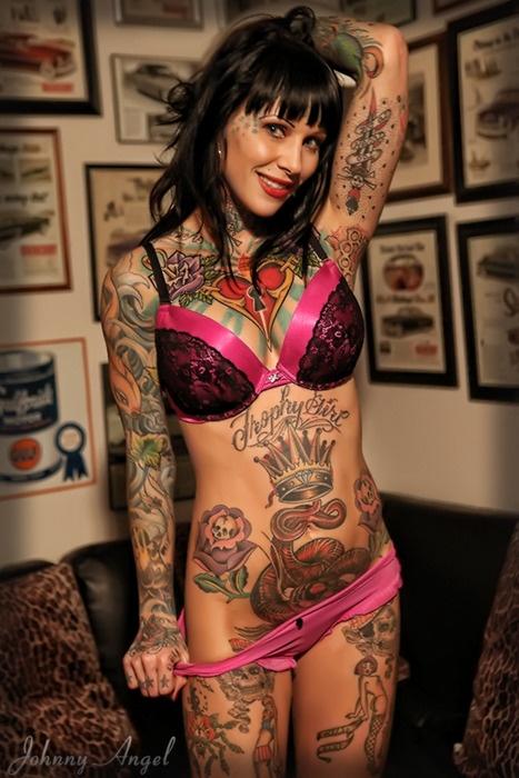 Tattoed Girl Fashion Trend