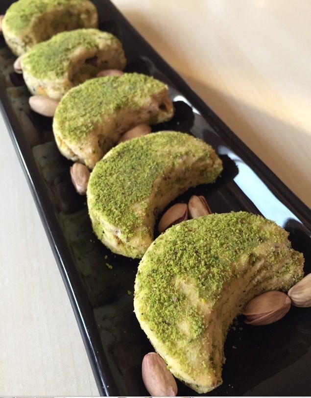 fıstıklı kavala kurabiyesi tarifi