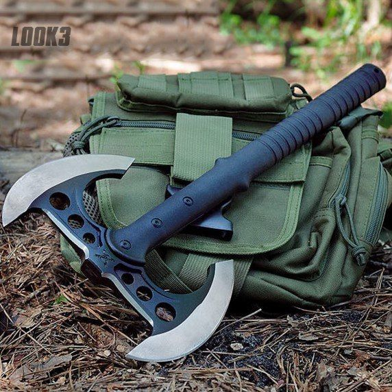 Double Bladed Tactical Tomahawk