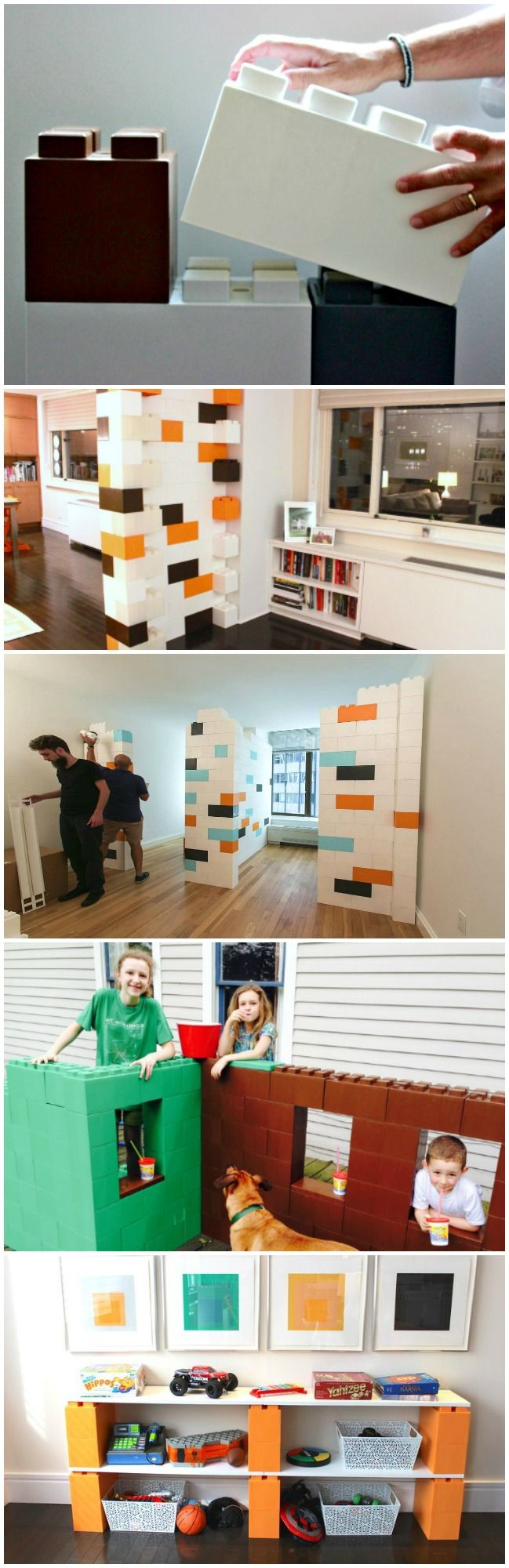 EverBlocks modular building blocks are perfect for all types of modular creations like furniture, room dividers, decor, props, displays and much more.