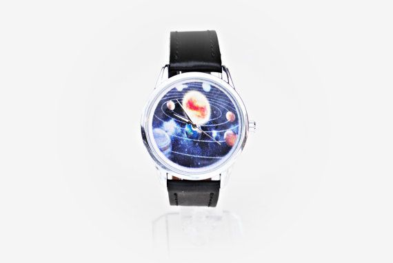 Check out this item in my Etsy shop https://www.etsy.com/listing/495852205/solar-system-watch-solar-system-gift