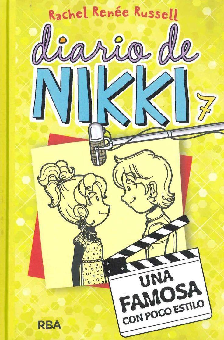 """""""Diario de Nikki 7: Una famosa con poco estilo"""" Rachel Renée Russell"""