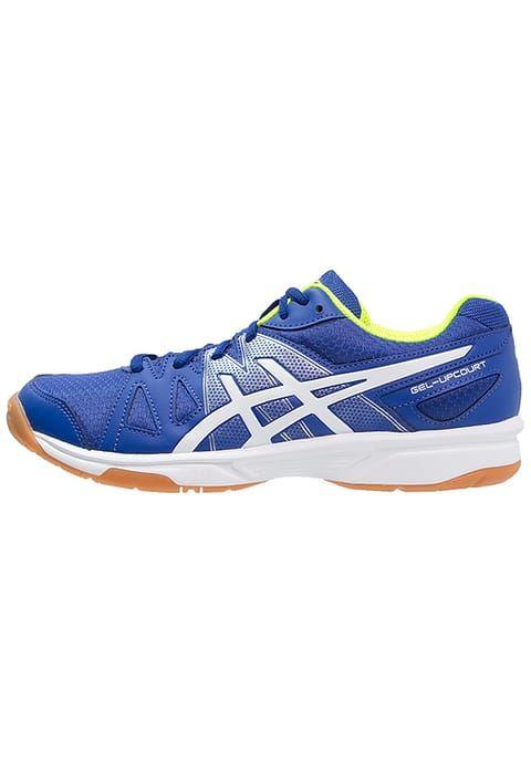 GEL-UPCOURT - Chaussures de handball - blue/white/safety yellow