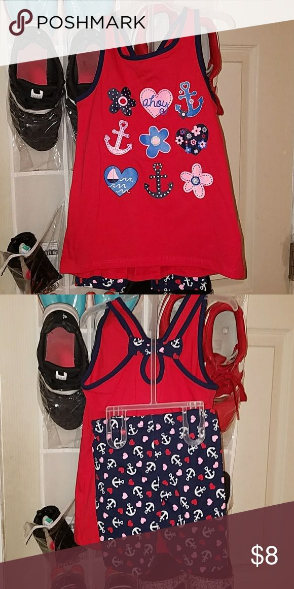 Anchor Outfit for Children NWOT Great for fourth of July or just an everyday outfit. Bought and didn't fit my daughter. Size 5 children's. Brand new, never worn. Matching Sets