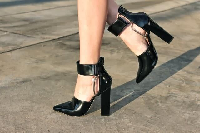 Amber from Cannibals Find in the Shoe Cult Strut Cutout Bootie (http://www.nastygal.com/shoes/strut-cutout-bootie)