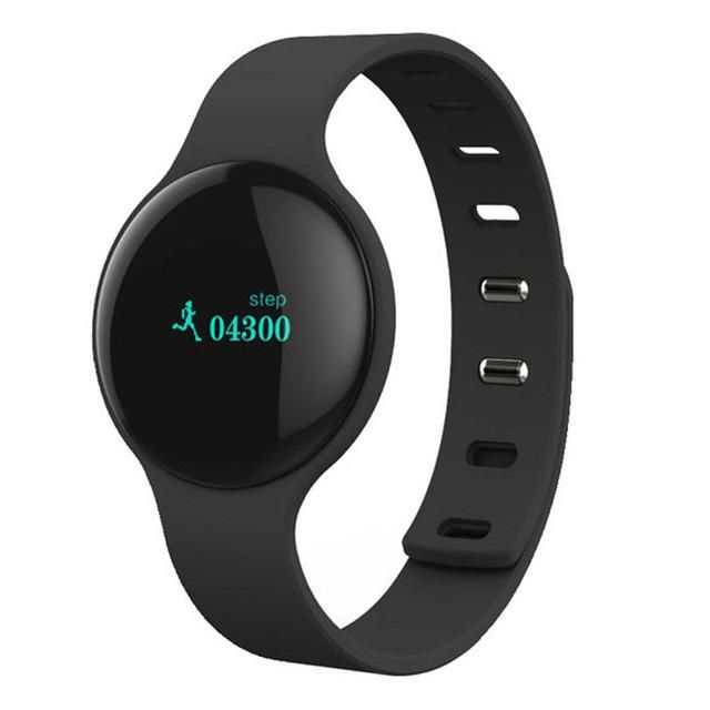 H8 Bluetooth 4.0 Alarm Sport Smart Watch Tracker Speed Record Smart Health Bracelet Anti-lost