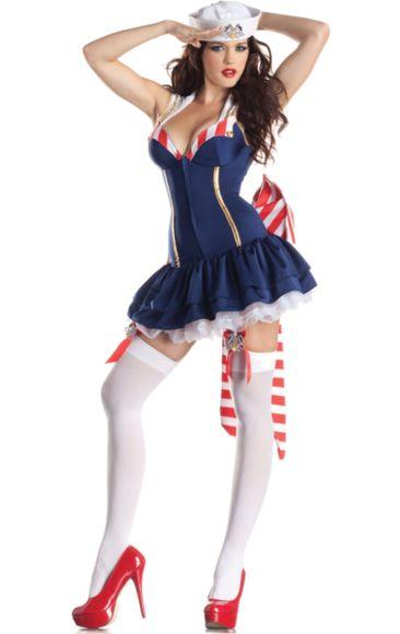 Sexy Sailor Costume Body Shaper