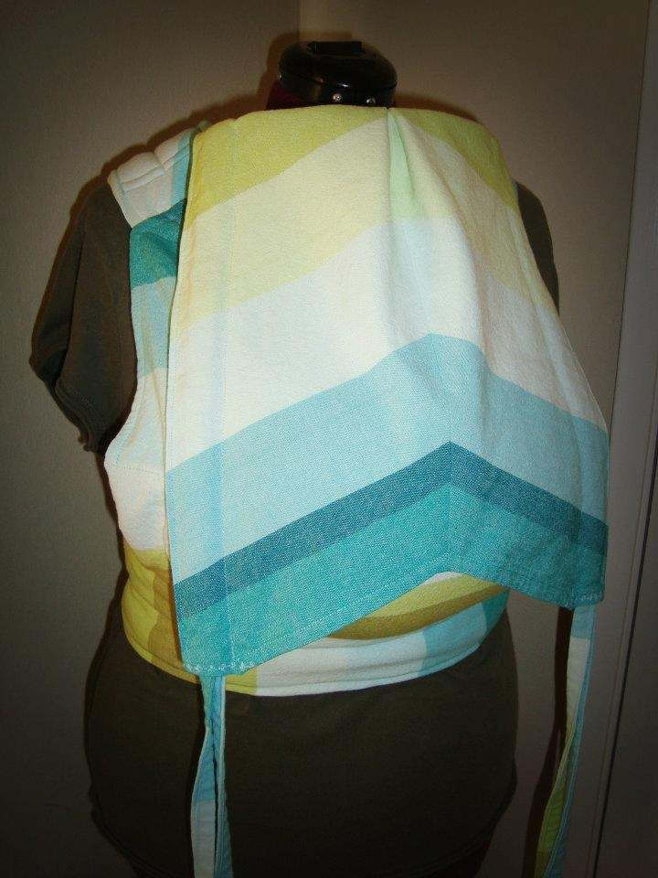 Table Cloth Conversion Carrier with Chevron hood. Custom by #ehmiodesigns