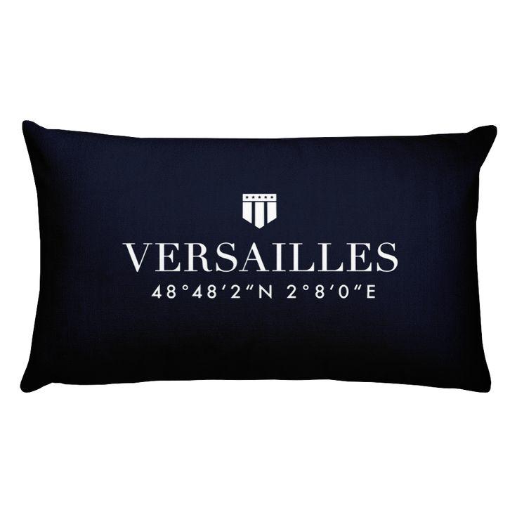 Versailles France Pillow with Coordinates
