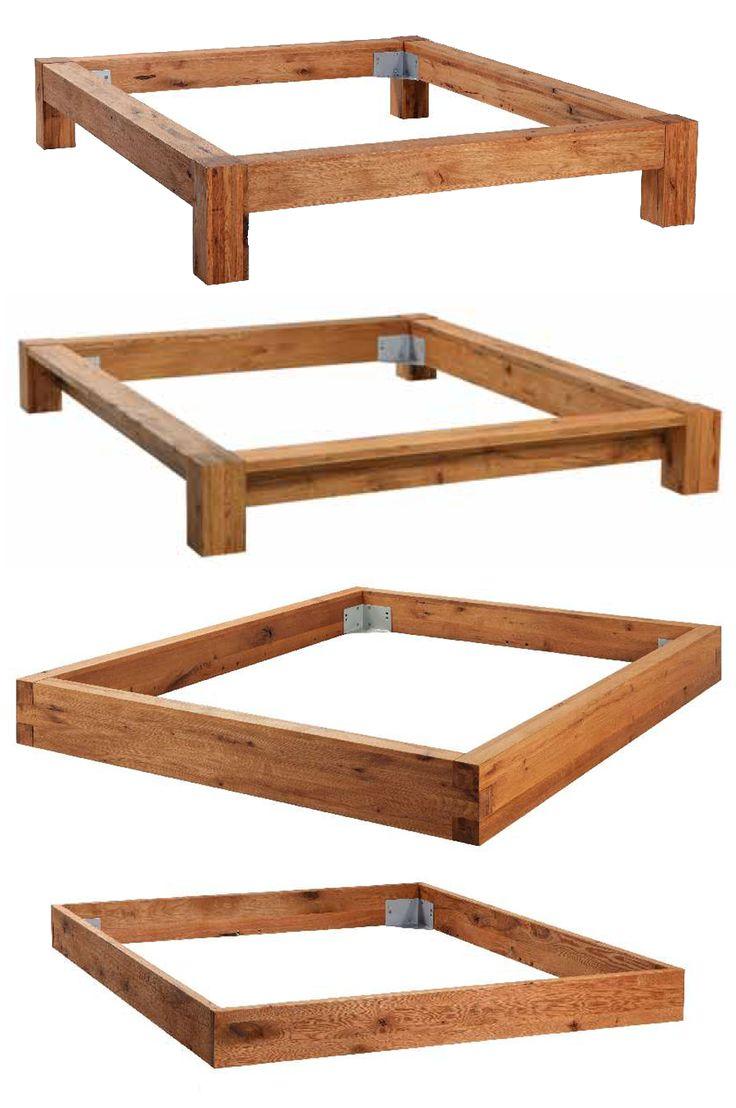Massivholz bett selber bauen  Die besten 25+ Betten Ideen auf Pinterest | Bett Lichter ...
