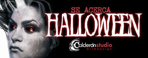 Cabecera de la galería especial Halloween de CalderonSTUDIO
