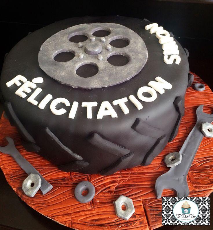 Cake for a mechanic