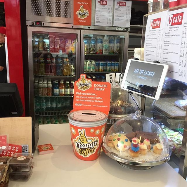 Thank you to our wonderful customers who attend #virginactive and supported our @changecoffee appeal at vcafe Frenchs Forest, vcafe Pitt Street and vcafe Norwest. Your valuable support means we raised nearly $200 for this very worthy cause, which will go towards changing the lives of children in need. #changeisbrewing #changecoffeeday #sydney